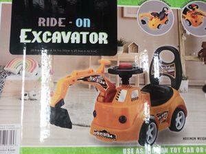 Ride-On EXCAVATOR Truck. Kids 3+ for Sale in El Monte, CA