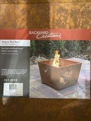 Fire pit-box new for Sale in Chicago, IL