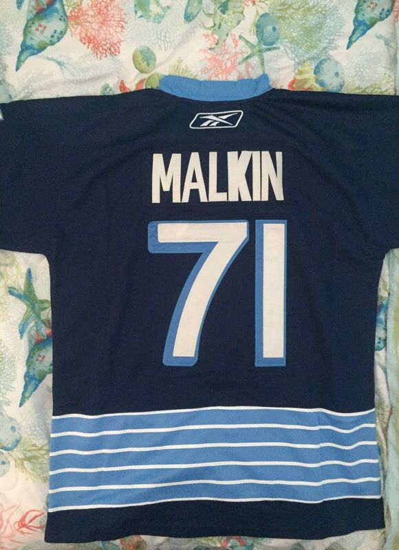 XL (71) Malkin Replica Reebok 2011 Winter Classic Jersey - Pittsburgh Penguins (sz 54)