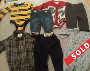 Baby Boy Bundle 3-6 months for Sale in Compton, CA