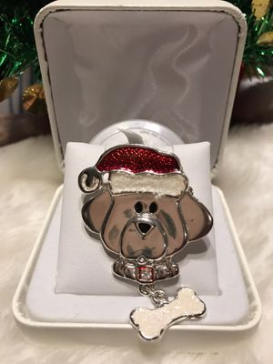 Adorably Cute !! Doggy Christmas pin !!! for Sale in Gainesville, VA