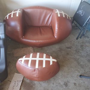 Kids football chair couch for Sale in San Diego, CA
