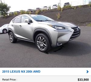 2015 Lexus NX 200t AWD! Loaded! Must see! Call 267 Trent 575 Now 2029 for Sale in Penndel, PA
