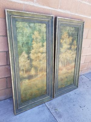 Beautiful forest frame price for both for Sale in Moreno Valley, CA