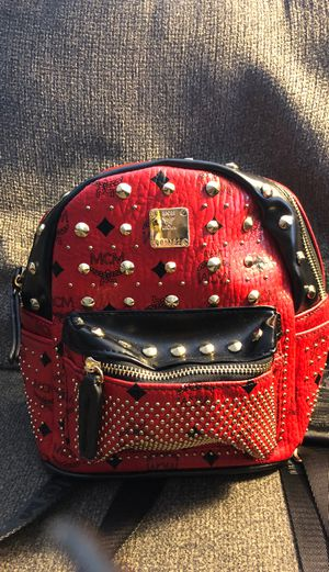 Mini backpack red/black studded for Sale in Orlando, FL