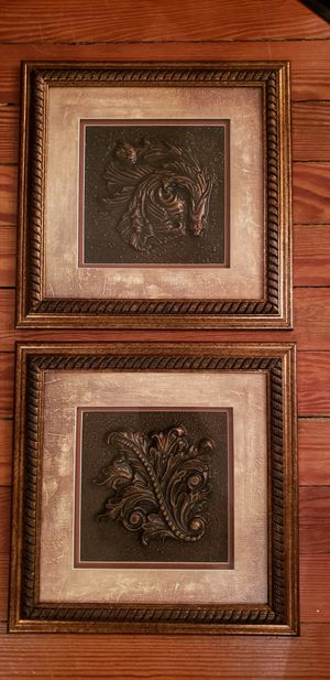 Pretty set of 14x14 framed art for Sale in St. Louis, MO
