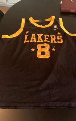 Lakers Black Yellow NBA Nike Kobe Bryant Jersey Size XXL for Sale in Kenbridge,  VA