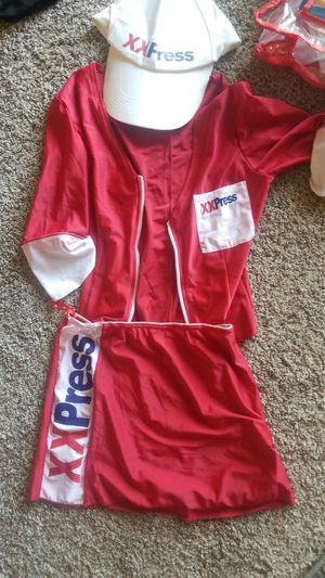 Women's fedx Halloween costume size small for Sale in Parma, OH