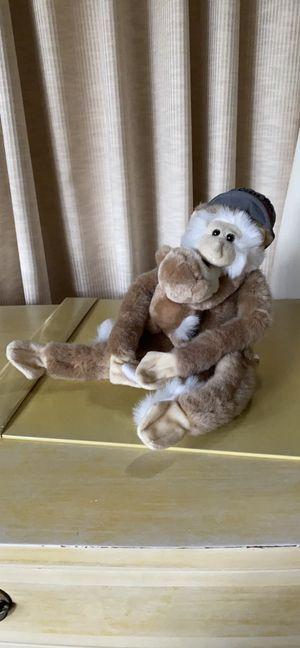 Like new monkey stuffed animal rare for Sale in Pasadena, CA