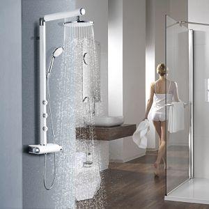 48 Aluminium Alloy Shower Column w/ Hand and Head Shower for Sale in Wildomar, CA