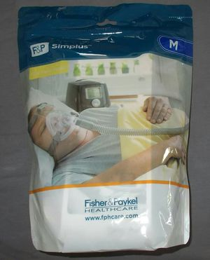 New F&P Simplus Full Face CPAP Mask- Complete Setup for Sale in Vista, CA