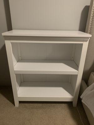 White Bookcase for Sale in Dallas, TX