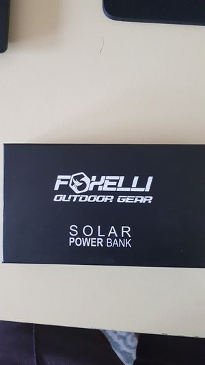 Foxelli Solar power bank for Sale in Pasco, WA