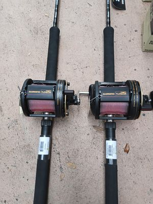 Brand New tld 25 fishing reel with new Cortez rod....300.00 each for Sale in Pembroke Pines, FL