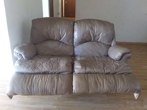 Leather rocker recliner for Sale in Roy, WA