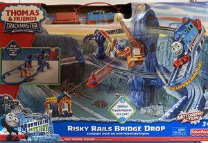 Thomas & Friends Thomas the Train Trackmaster Risky Rails Bridge Drop Set for Sale in Windermere, FL