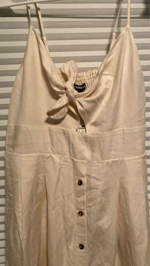 Express linen dress (never worn) for Sale in Germantown, MD