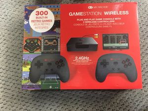 Brand new Wireless Gamestation with 300 built in games for Sale in Brockton, MA