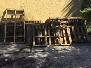 Free Pallets for Sale in Port St. Lucie, FL