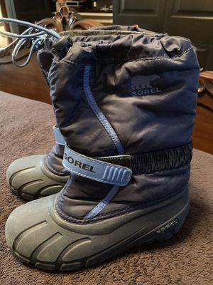 Sorel kids snow waterproof boots sz 5 for Sale in Miami, FL
