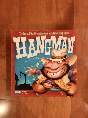 Complete Hangman Game-Great Christmas Gift! for Sale in Alhambra, CA