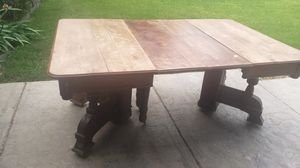 Antique oak Dinning table for Sale in Orland, CA