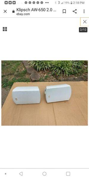 Klipsch outdoor speakers for Sale in Orlando, FL