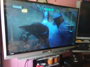Mitsubishi 73inches DLP TV with remote control and 2 HDMI ports for Sale in Washington, DC