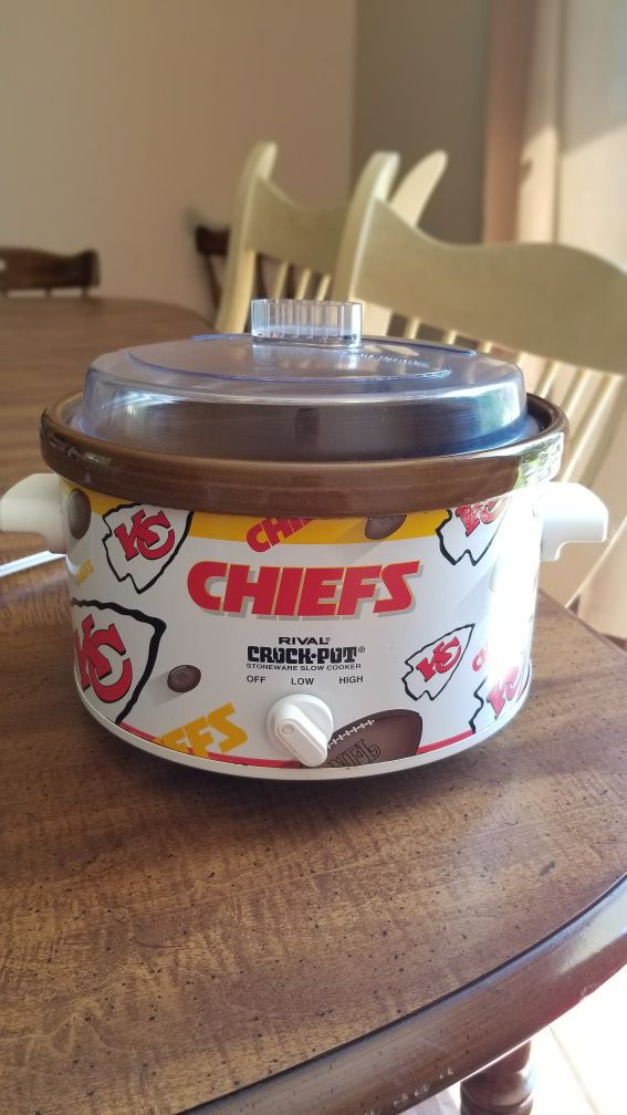 Kansas City Chiefs crockpot