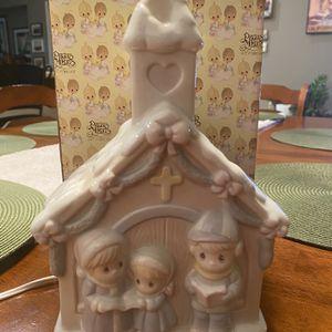 """1995 Precious Moments """"Sugar Town Church Nightlight"""" 322928L for Sale in Corona, CA"""