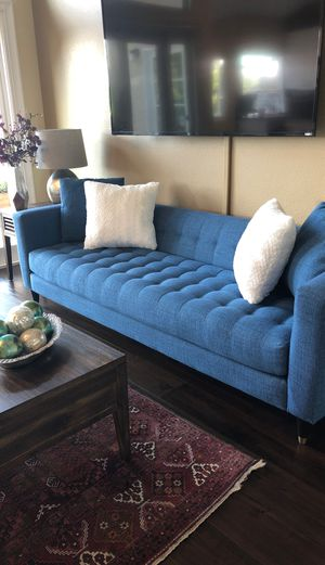 Couch Blue color for Sale in Laguna Beach, CA