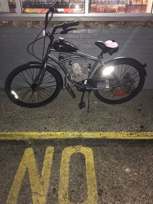 Bicycle With 80cc engine for Sale in Camden, NJ