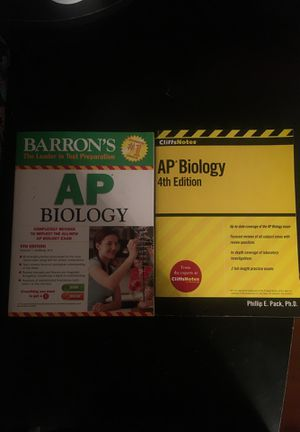 AP Biology Prep Books for Sale in Chaska, MN