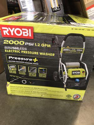 RYOBI 2,000 PSI 1.2 GPM Electric Pressure Washer for Sale in San Gabriel, CA