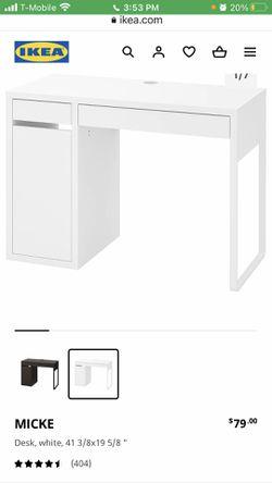 IKEA Small Desk MICKE for Sale in Anaheim,  CA