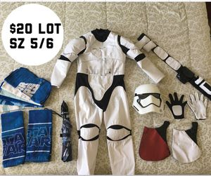 Disney Store Stormtrooper Costume sz 5/6 plus freebies for Sale in Richmond, CA