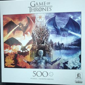 NEW!!!Game of Thrones 500 pc jigsaw puzzle for Sale in Torrance, CA