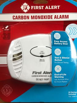 New First Alert Carbon Monoxide Alarm for Sale in Carmel Valley,  CA