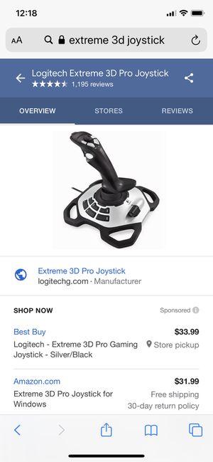 Extreme 3D Joystick for Sale in Sterling, VA