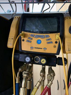 Fieldpiece. Sman 460 hvac. Freon. Refrigerants. R-22 & 410 for Sale in Moapa, NV