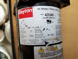 Dayton 1/6 DC motors (3) used for Sale in Saint Charles,  MO