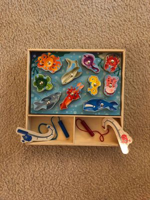Melissa & Doug 2 for $10 puzzles of wood for Sale in Germantown, MD
