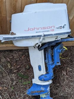 Johnson 18hp Outboard Motor for Sale in Lake Oswego,  OR