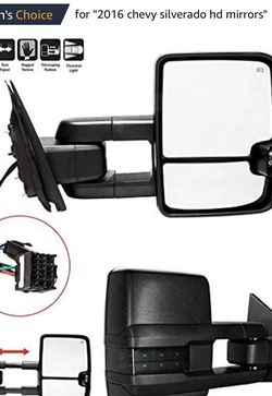 4.2 out of 5 stars Towing Mirrors Fit for 2500 HD 3500 HD Manual Telescopin Black Rear for Sale in Concord,  NC