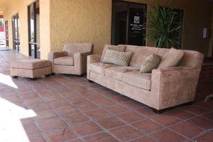 NEW CRATE & BARREL THREE PIECE SOFA SET for Sale in Mesa, AZ