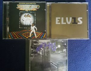 3 Cds-Elvis, Saturday Night Fever, Spin Doctors for Sale in Ellendale, DE