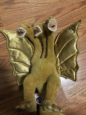 TY beanie baby king ghidorah plush for Sale in Richmond, CA