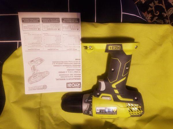 Ryobi drill/driver p208