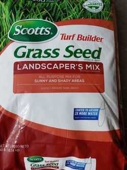 New 40 Lb Bag Of Scotts Grass Seeds Premium for Sale in Hillsboro,  OR