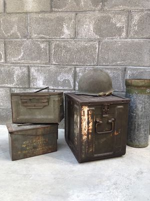Vintage Ammo Boxes & Military Goods for Sale in Los Angeles, CA